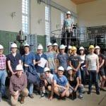 Auftaktradtour 'Stadt am Wasser' - Besichtigung des denkmalgeschützten Wasserkraftwerks an der Hunte